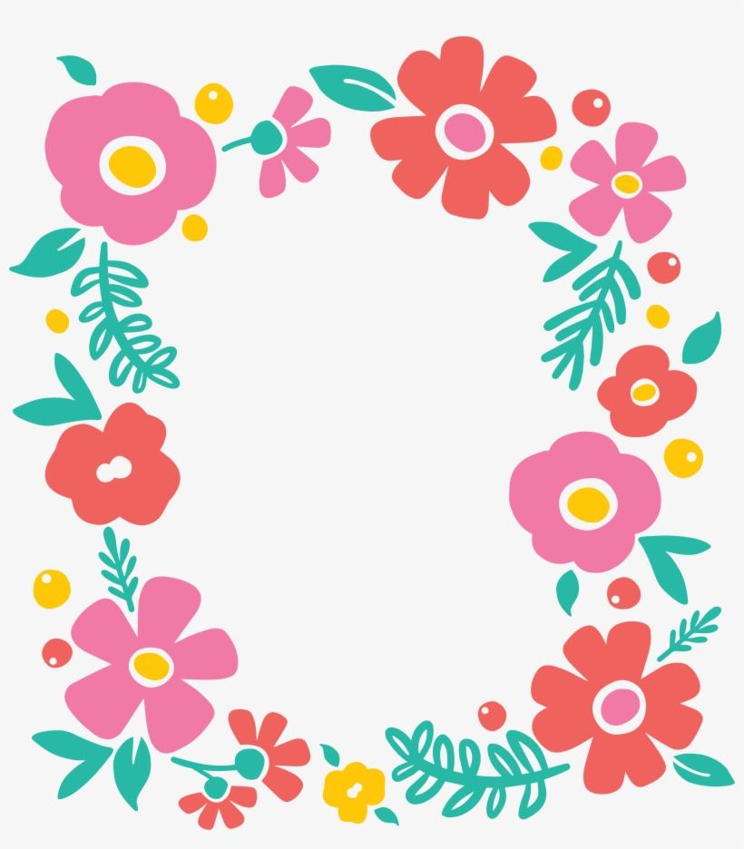 Clipart floral frame image stock Floral Frame Png - Flower Border Clipart Svg PNG Image | Transparent ... image stock