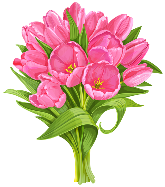 Clipart flower bouquet picture stock Tulips Bouquet Transparent PNG Clip Art | foto | Pinterest | Tulip ... picture stock