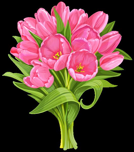 Clipart of flower arrangements transparent download Tulips Bouquet Transparent PNG Clip Art | foto | Pinterest | Tulip ... transparent download