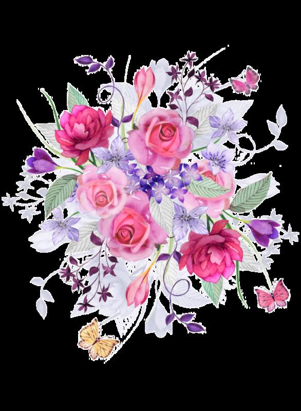 Flower spray clipart freeuse library fleurs,flores,flowers,bloemen,png | Noix de pécan | Pinterest ... freeuse library