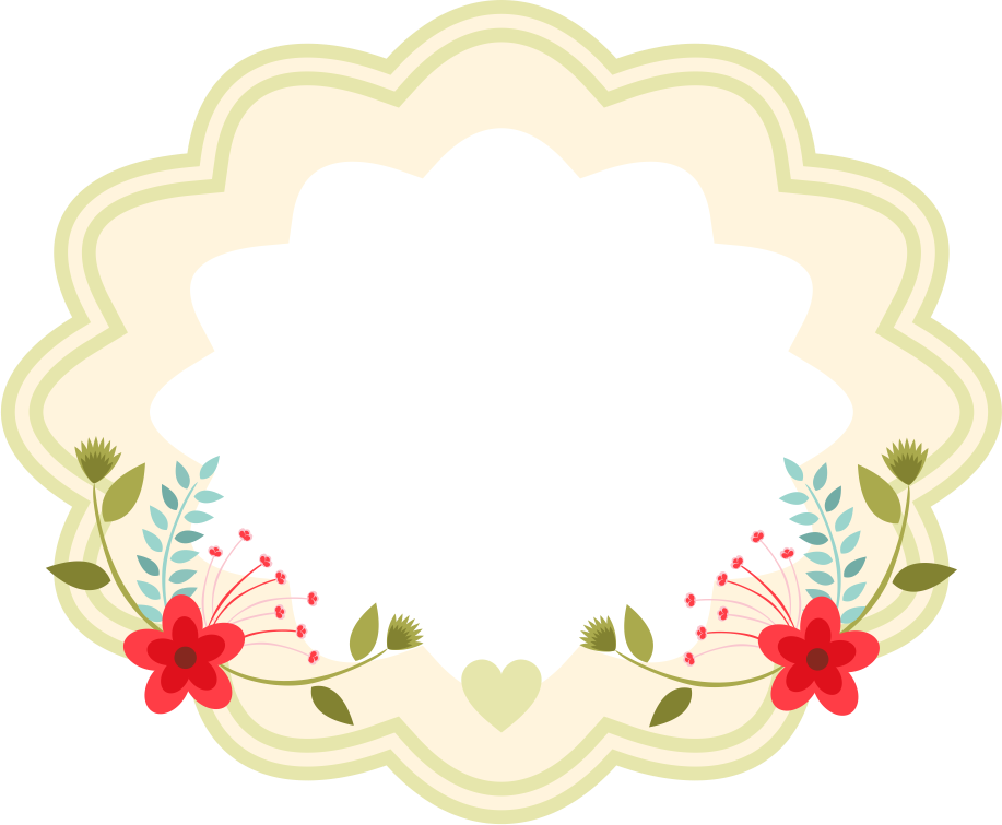 Personaliza o brindes layouts. Flower arrow clipart