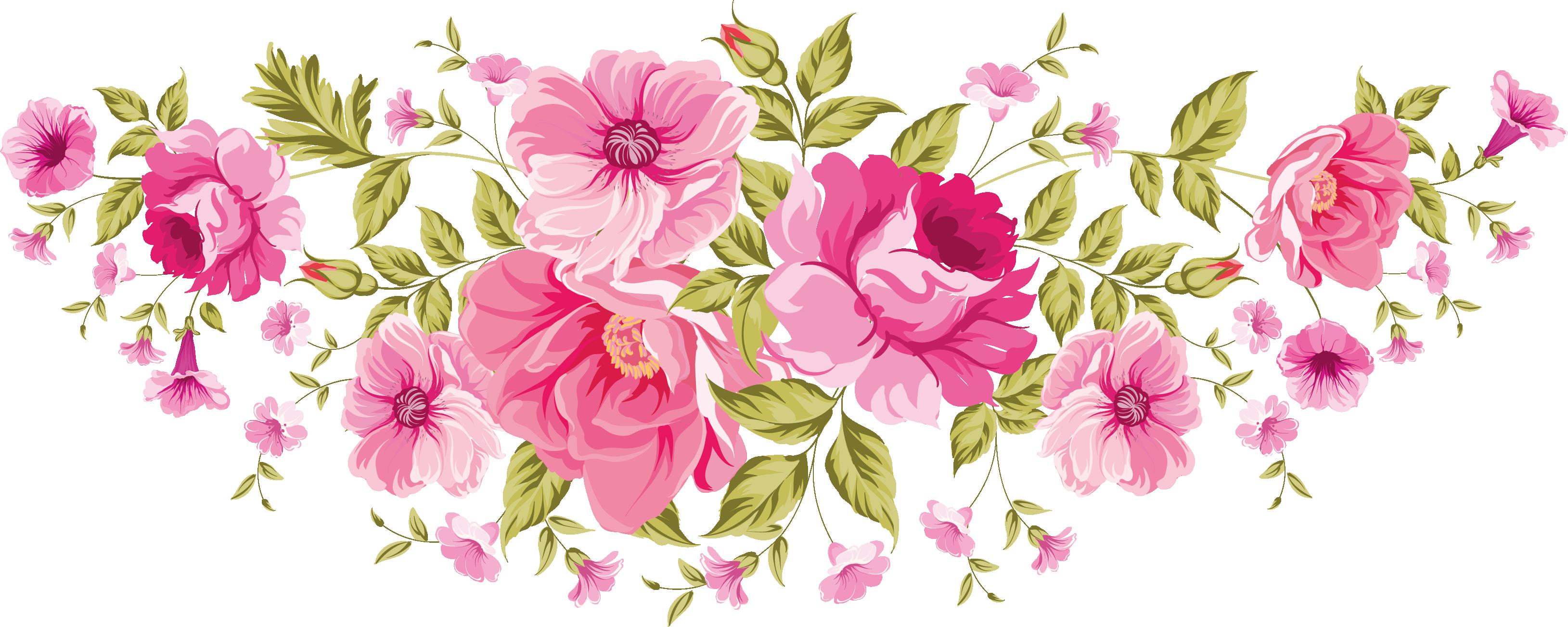 Flower spray clipart clip art flowers / png. xxl | Decoupage Flowers | Pinterest | Flowers ... clip art