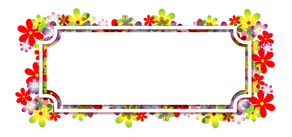 Flag football border clipart svg royalty free Free Image on Pixabay - Flowers, Floral Pattern, Banner | Pinterest ... svg royalty free