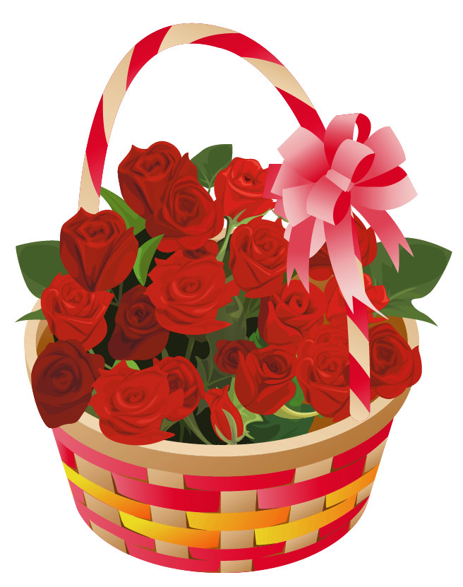 Flower baskets clipart clipart transparent download Roses_Basket_PNG_Clipart.png (656×831) | OMEY FLOWERS | Pinterest ... clipart transparent download