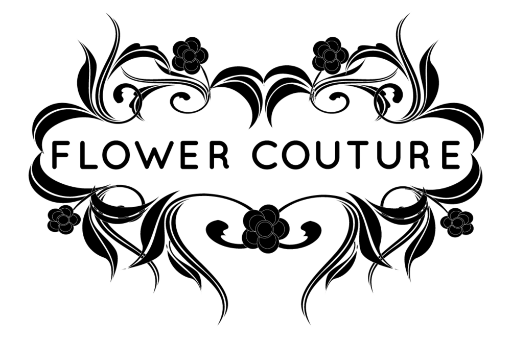 Wedding flower black and white clipart image free download FLOWER COUTURE image free download
