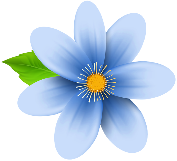 Clipart flower blue image freeuse stock Blue Flower Clip Art Image | Gallery Yopriceville - High-Quality ... image freeuse stock