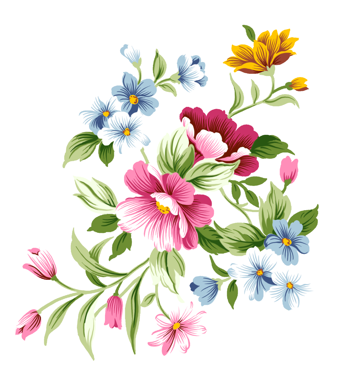 Flower garden background clipart clip library stock Pink flowers Clip art - flowers background 1084*1222 transprent Png ... clip library stock