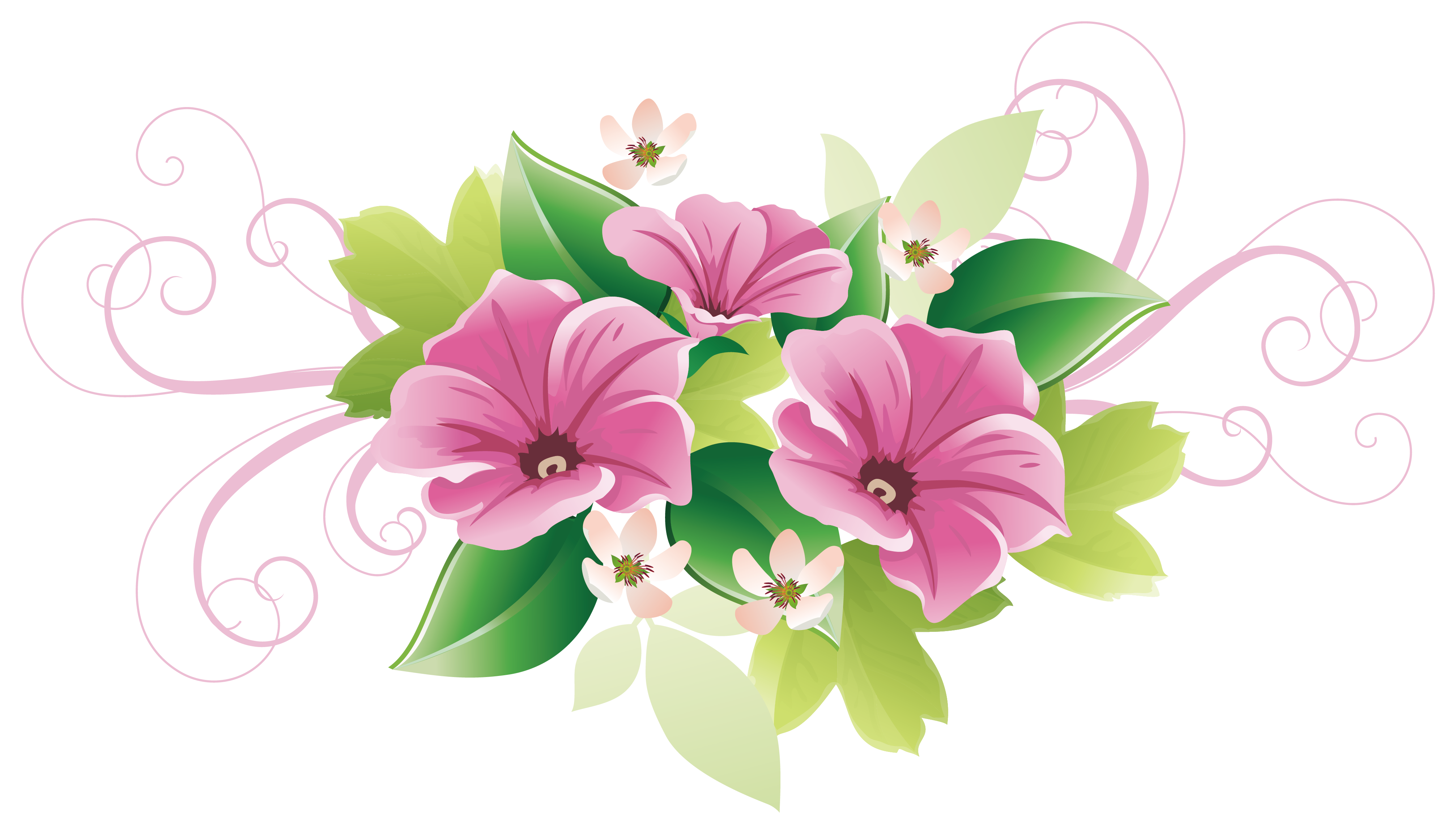 Clipart flower bouquet peach and green clipart freeuse library Floral design Flower Decorative arts Clip art - Beautifully green ... clipart freeuse library