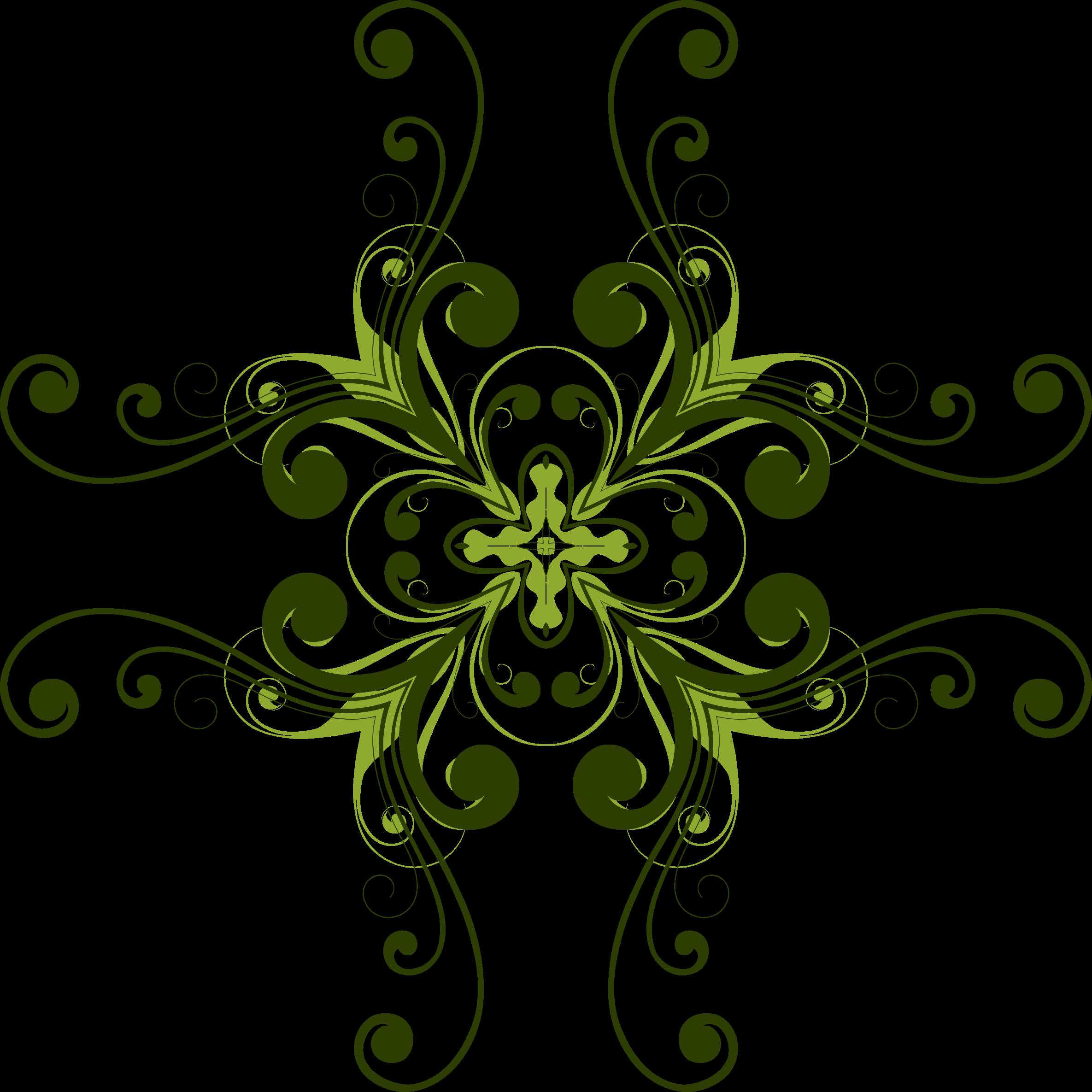Flower flourish clipart. Design big image png