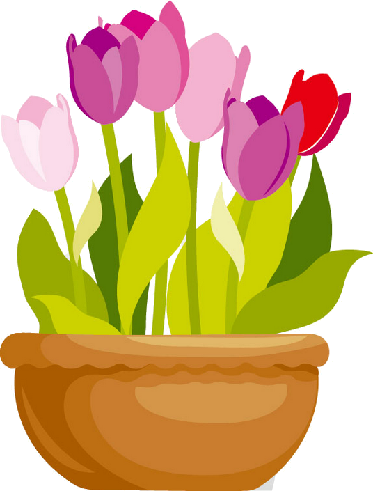 Clipart flower pots svg royalty free library fleurs,flores,flowers,bloemen,png | Растения клипарт | Pinterest svg royalty free library