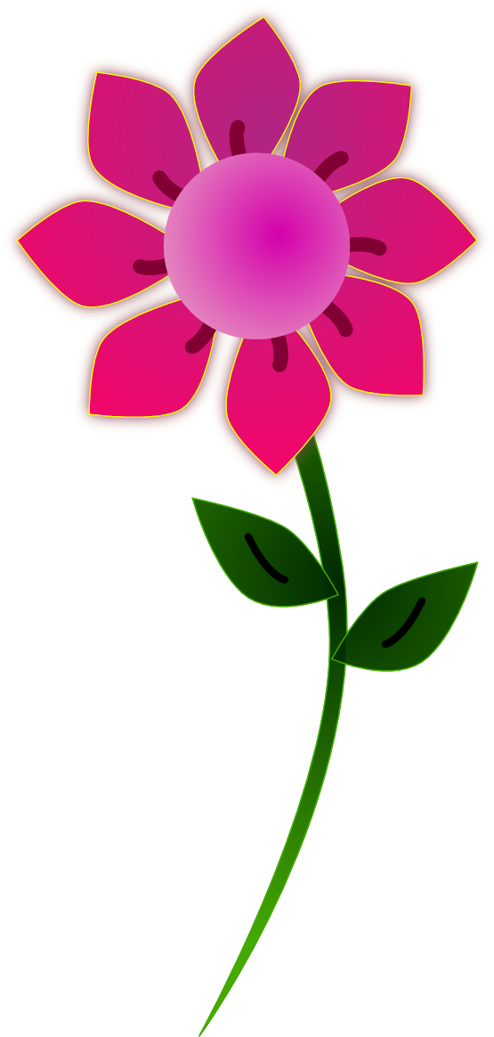 Flower clipart free svg library library Clipart flower png - ClipartFest svg library library