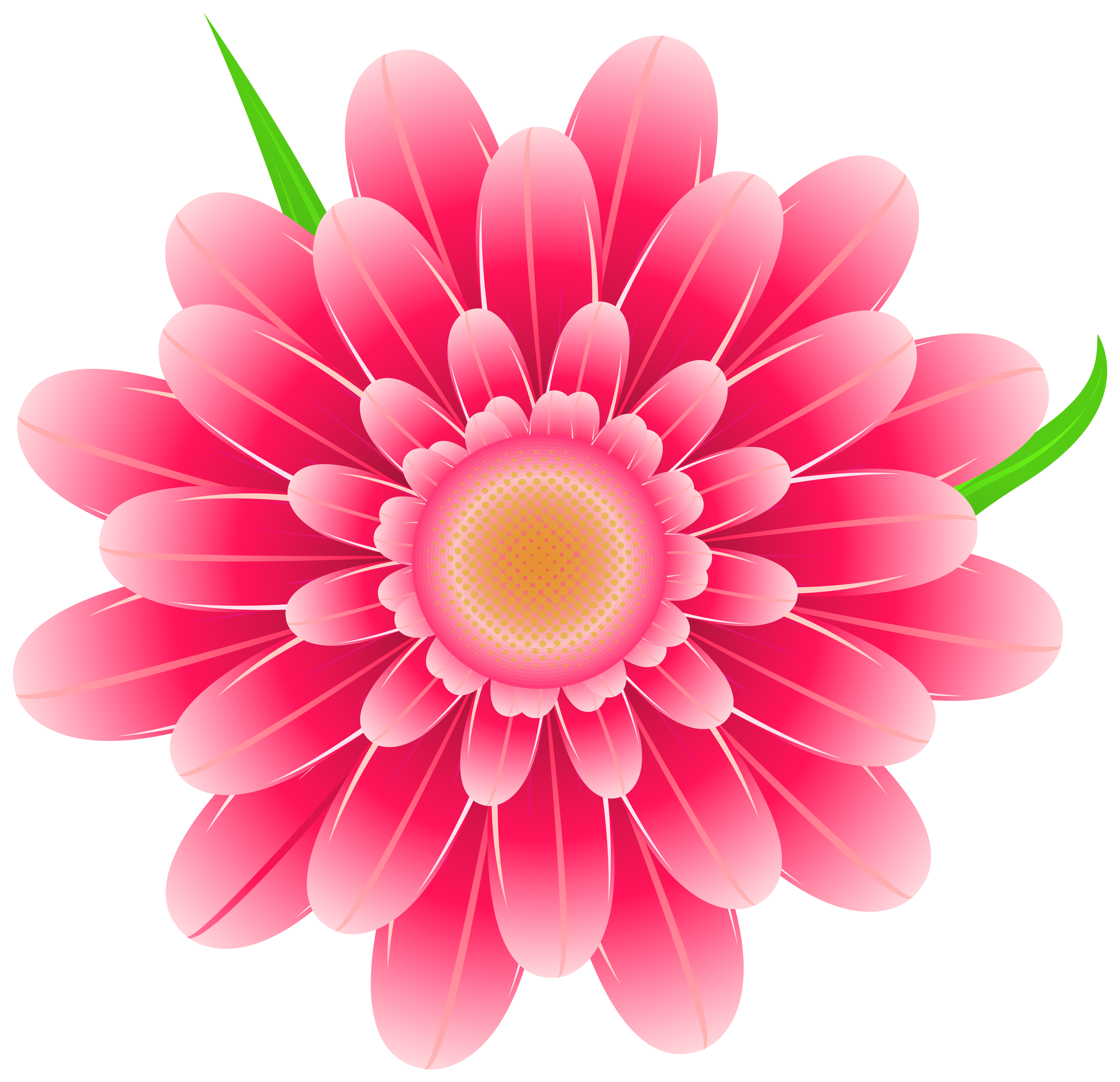 Png flower clipart vector transparent Transparent Pink Flower Clipart PNG Image vector transparent