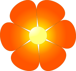 Clipart flower png. Clip art at clker