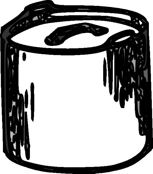 Clipart flower pot black and white clip art transparent Pot Black And White Clip Art at Clker.com - vector clip art online ... clip art transparent