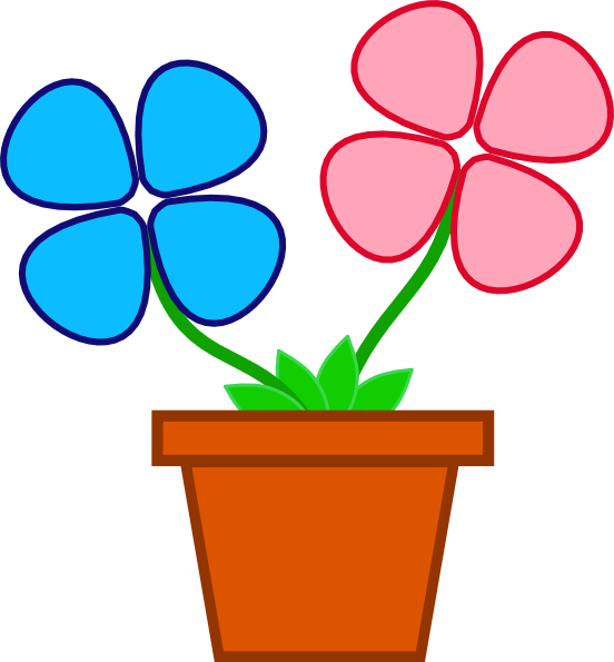 Clipart flower pot free svg royalty free Free Flower Pot Pictures, Download Free Clip Art, Free Clip Art on ... svg royalty free