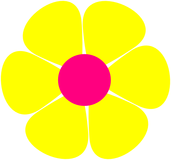 Flower power clipart png royalty free Flowerpower Clip Art at Clker.com - vector clip art online, royalty ... png royalty free