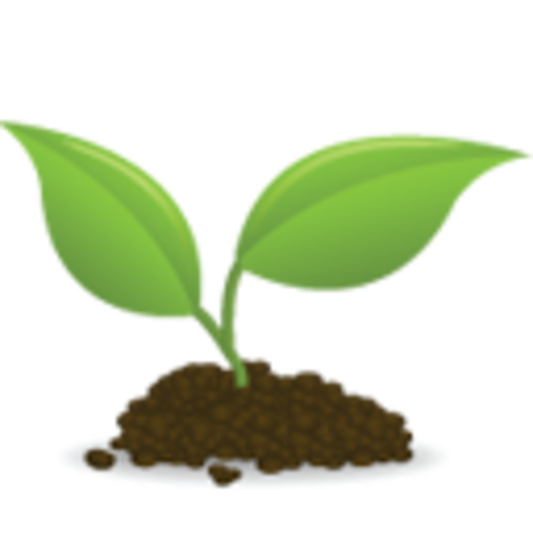 Tree seed clipart vector library library Icon Seedling | Free Images at Clker.com - vector clip art online ... vector library library