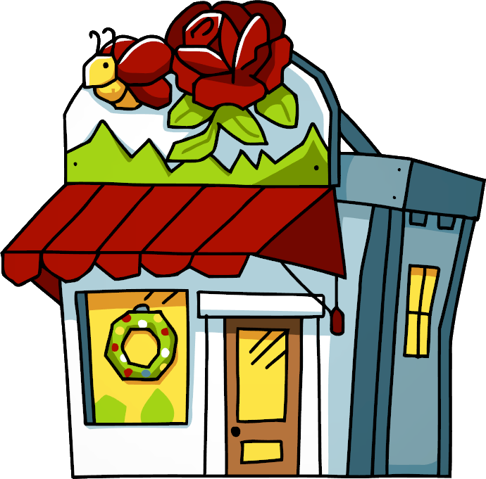 Flower delivery clipart image freeuse library Flower Shop | Scribblenauts Wiki | FANDOM powered by Wikia image freeuse library
