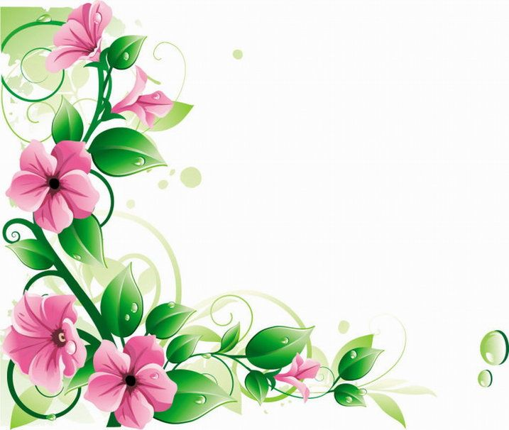 Library of picture library flower vines png files