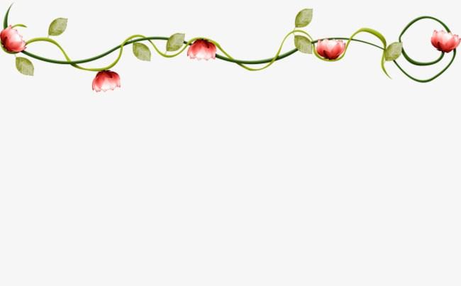 Clipart flower vines svg library stock Flowering vines clipart 5 » Clipart Portal svg library stock