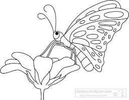 Clipart flower with butterfly black and white banner royalty free download Image result for butterfly on flower clipart black and white ... banner royalty free download