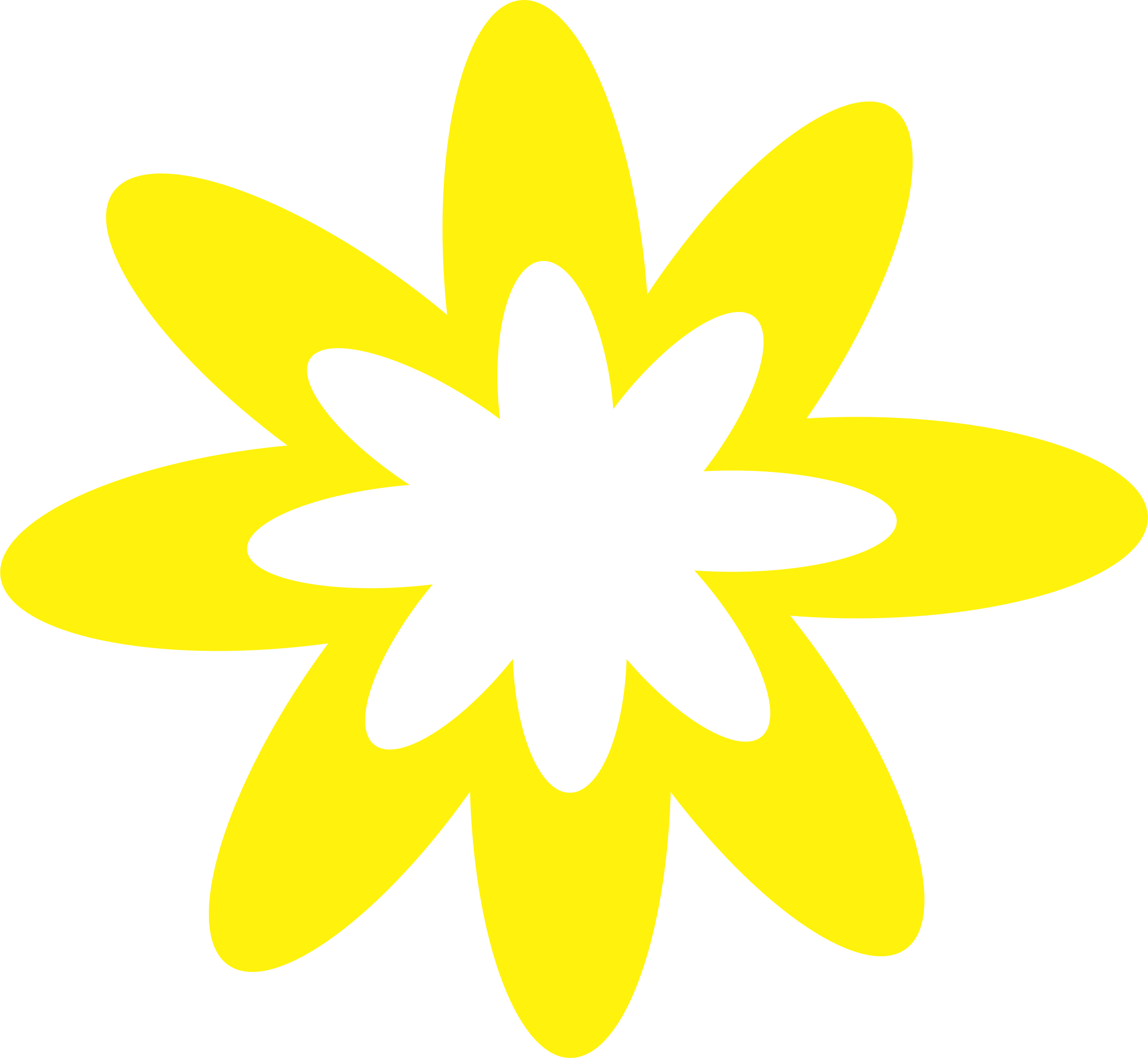 Yellow clipart flower graphic freeuse library Clipart - Yellow Burst Flower graphic freeuse library