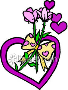 Clipart flowers and hearts picture library Hearts and flowers clipart - ClipartFest picture library