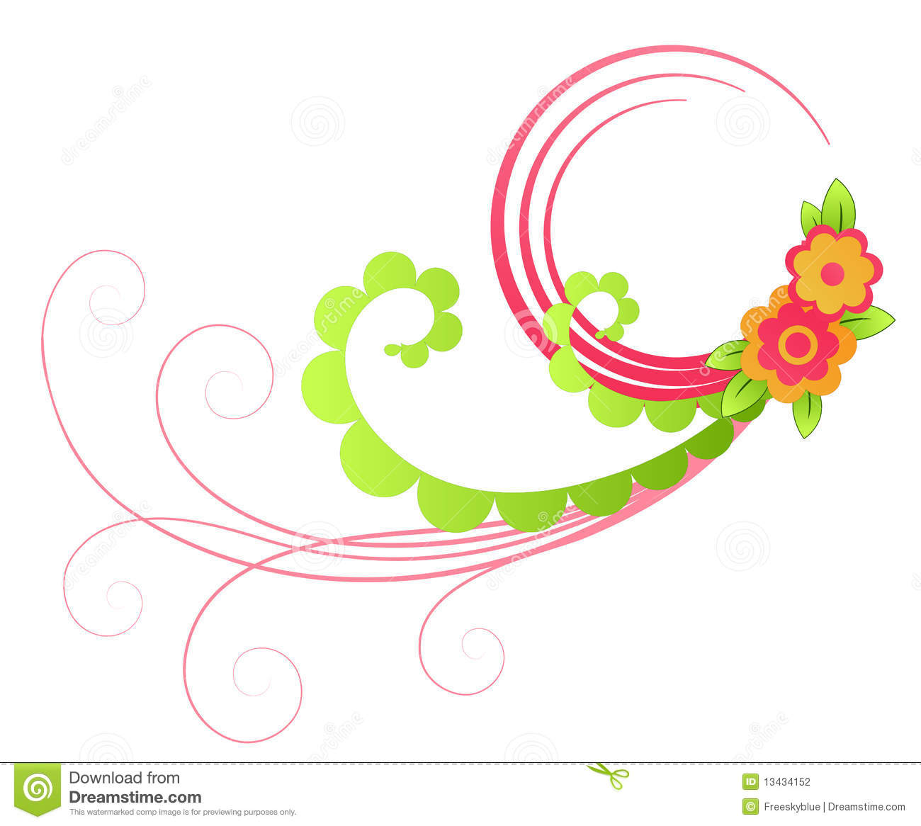 Clipart flowers and vines png transparent download Flowers on vines clipart - ClipartFest png transparent download