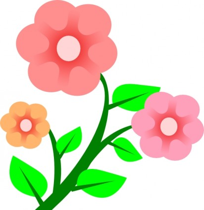 Clipart flowers and vines vector library stock Clipart vines and flowers - ClipartFest vector library stock