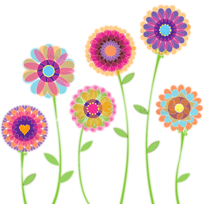 Clipart flowers free download banner library library Floral clip art images free download banner library library