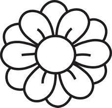 Line drawing of flowers clipart svg royalty free stock flower clipart - Google Search | Stencils | Flower clipart, Flower ... svg royalty free stock