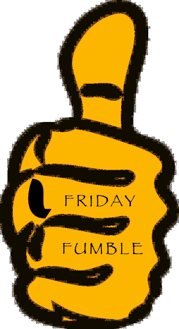 Clipart football fumble clip art transparent library Friday Fumble - TribeFM clip art transparent library