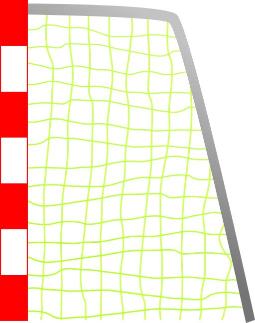 Clipart football goal post picture transparent download Soccer Goal Clipart (69+) picture transparent download