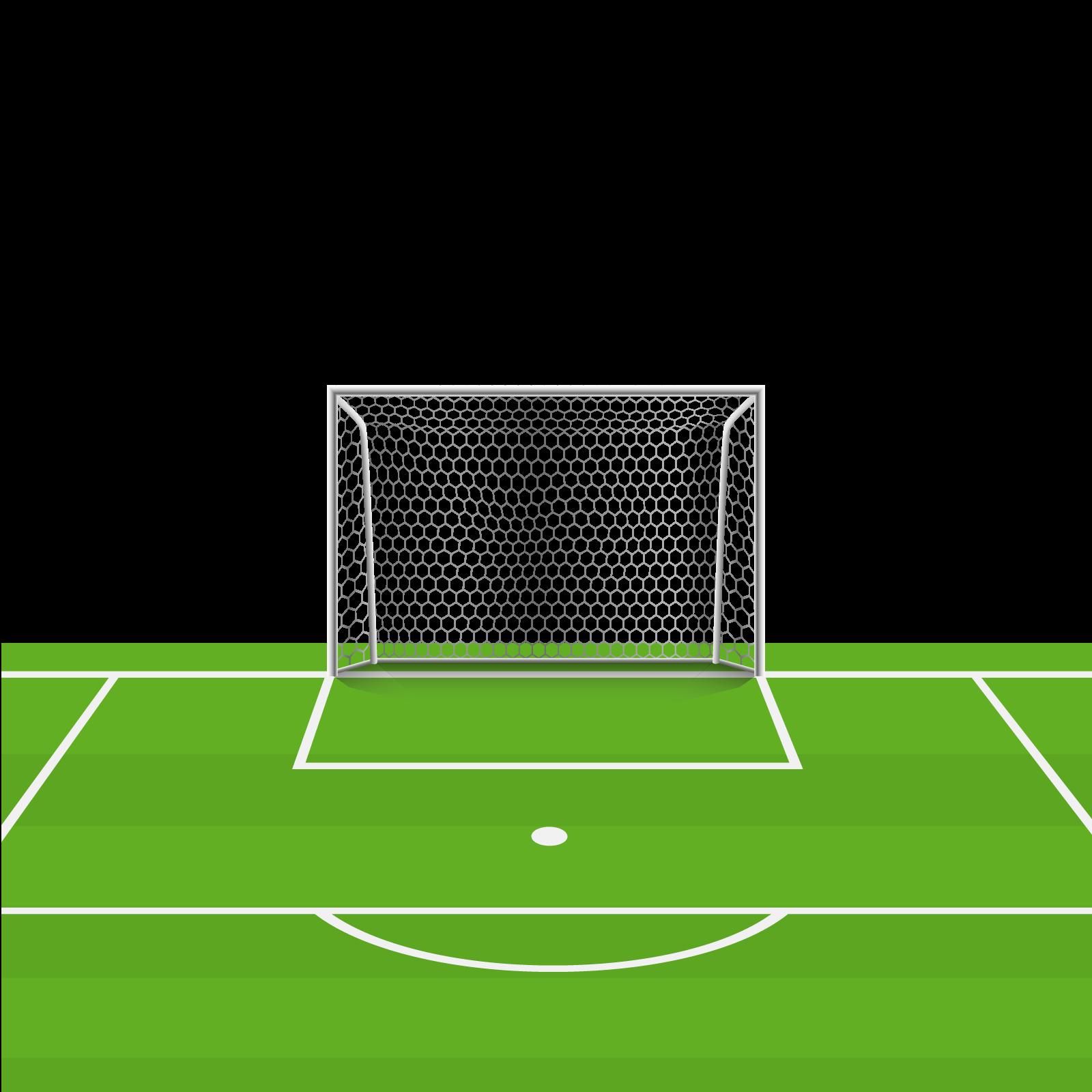 Football net clipart