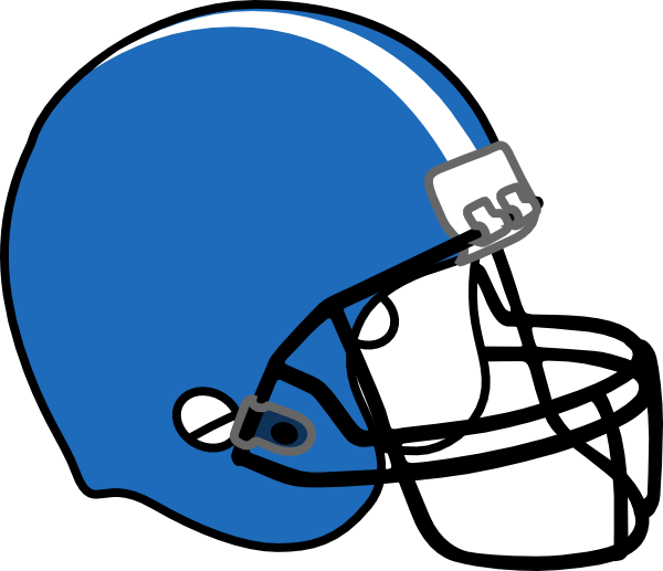 Clip art free images. Football helmet clipart black and white