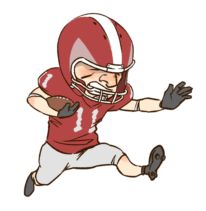 Clipart image football player png black and white download Free Clipart Images Football Player | Newwallpapers.org png black and white download
