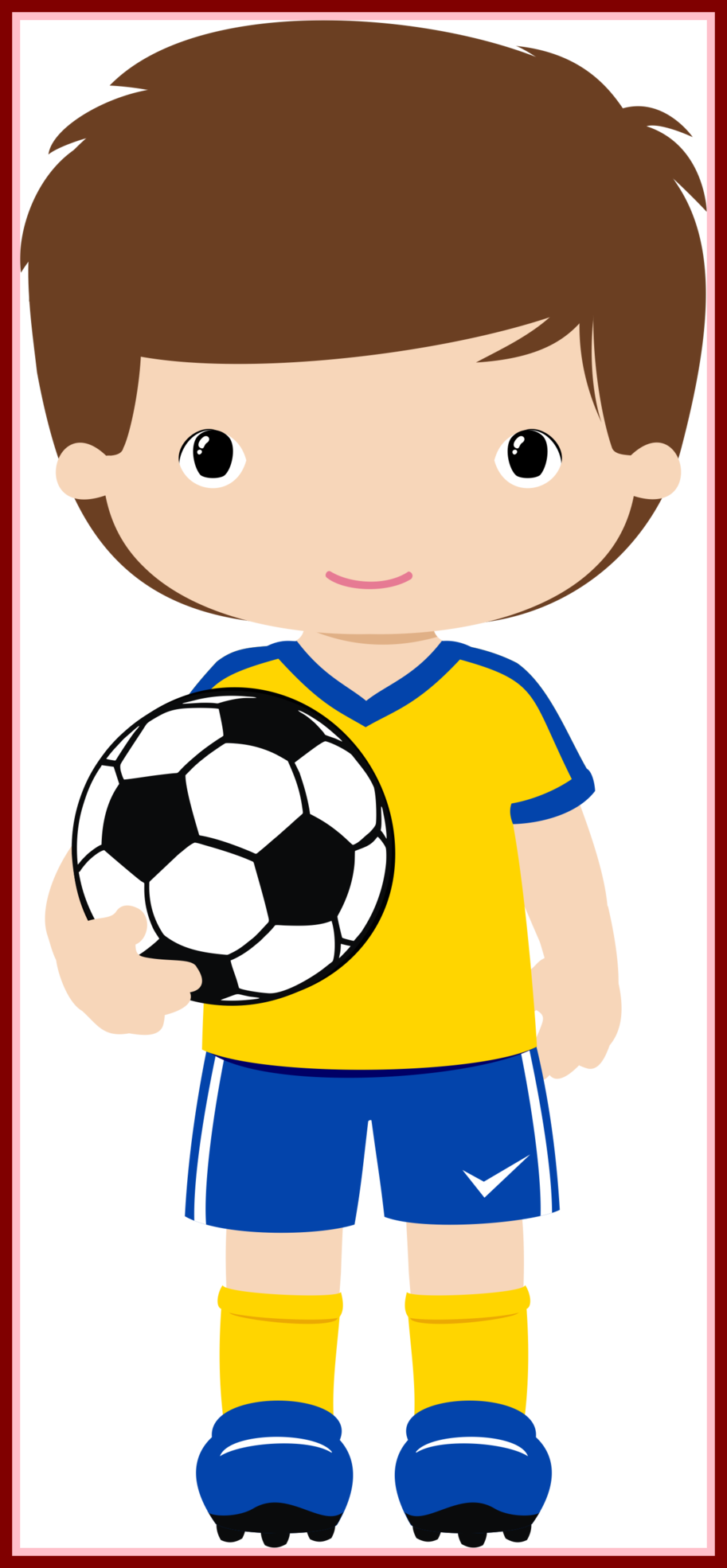 Female football player clipart. Amazing a getting ready