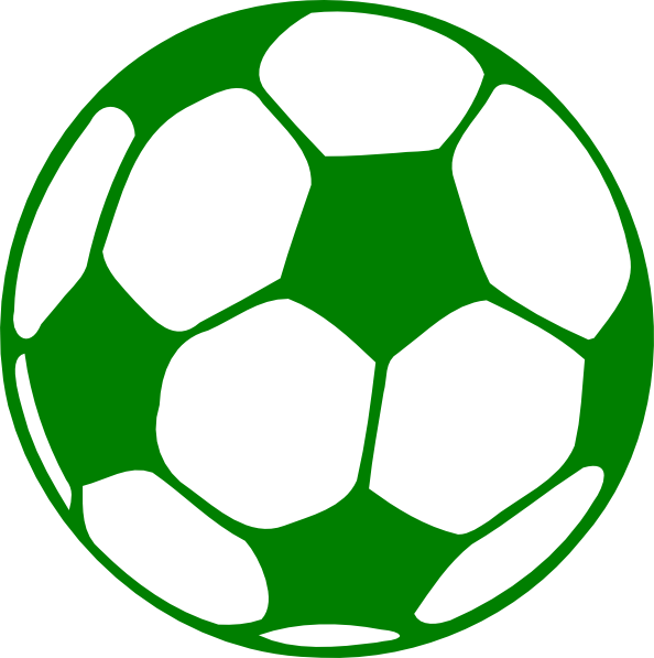 Football clipart png graphic free download Green Football Clip Art at Clker.com - vector clip art online ... graphic free download