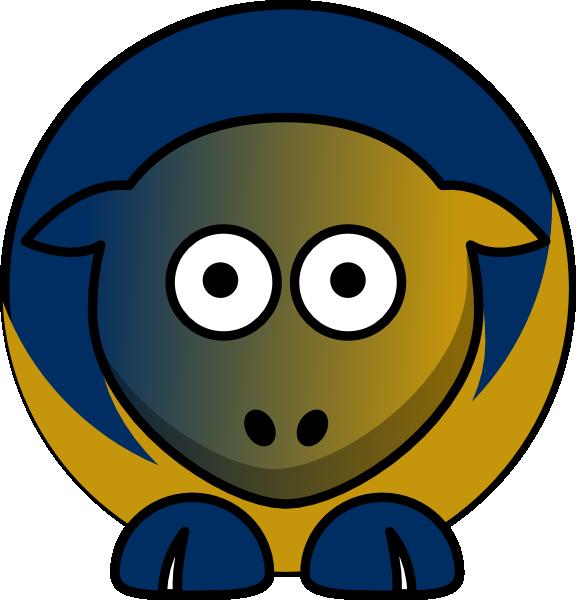 Clipart football team jpg freeuse stock Sheep - Florida International Golden Panthers - Team Colors ... jpg freeuse stock
