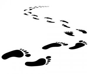 Clipart footprints walking graphic transparent download Free Walking Footprints Cliparts, Download Free Clip Art, Free Clip ... graphic transparent download
