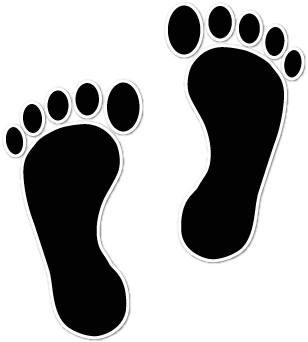 Clipart footprints walking graphic royalty free library Free Walking Footprints Cliparts, Download Free Clip Art, Free Clip ... graphic royalty free library