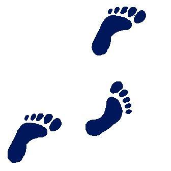Clipart footprints walking vector library Free Walking Footprints Cliparts, Download Free Clip Art, Free Clip ... vector library