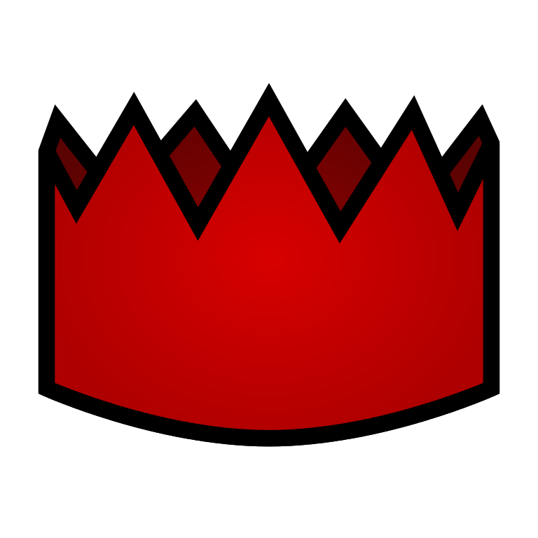Clipart for a paper crown banner transparent library File:Red party hat.svg - Wikimedia Commons banner transparent library