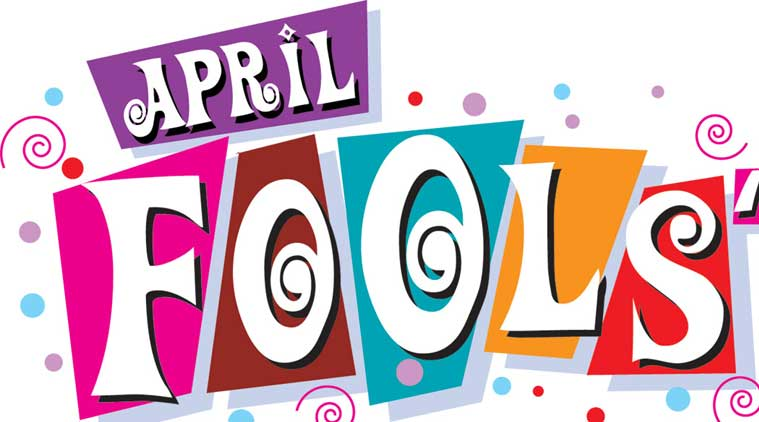 How the custom of. Clipart for april fools day