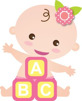 Clipart for baby girl