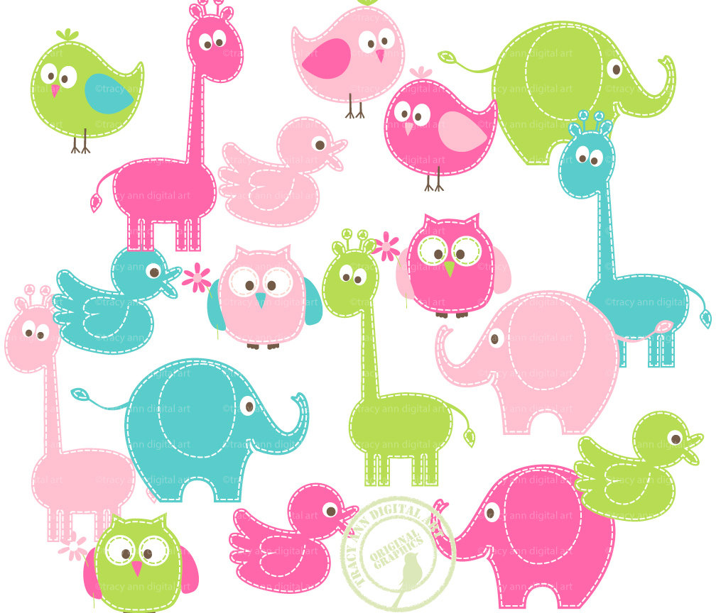 Elephant shower panda free. Clipart for baby showers