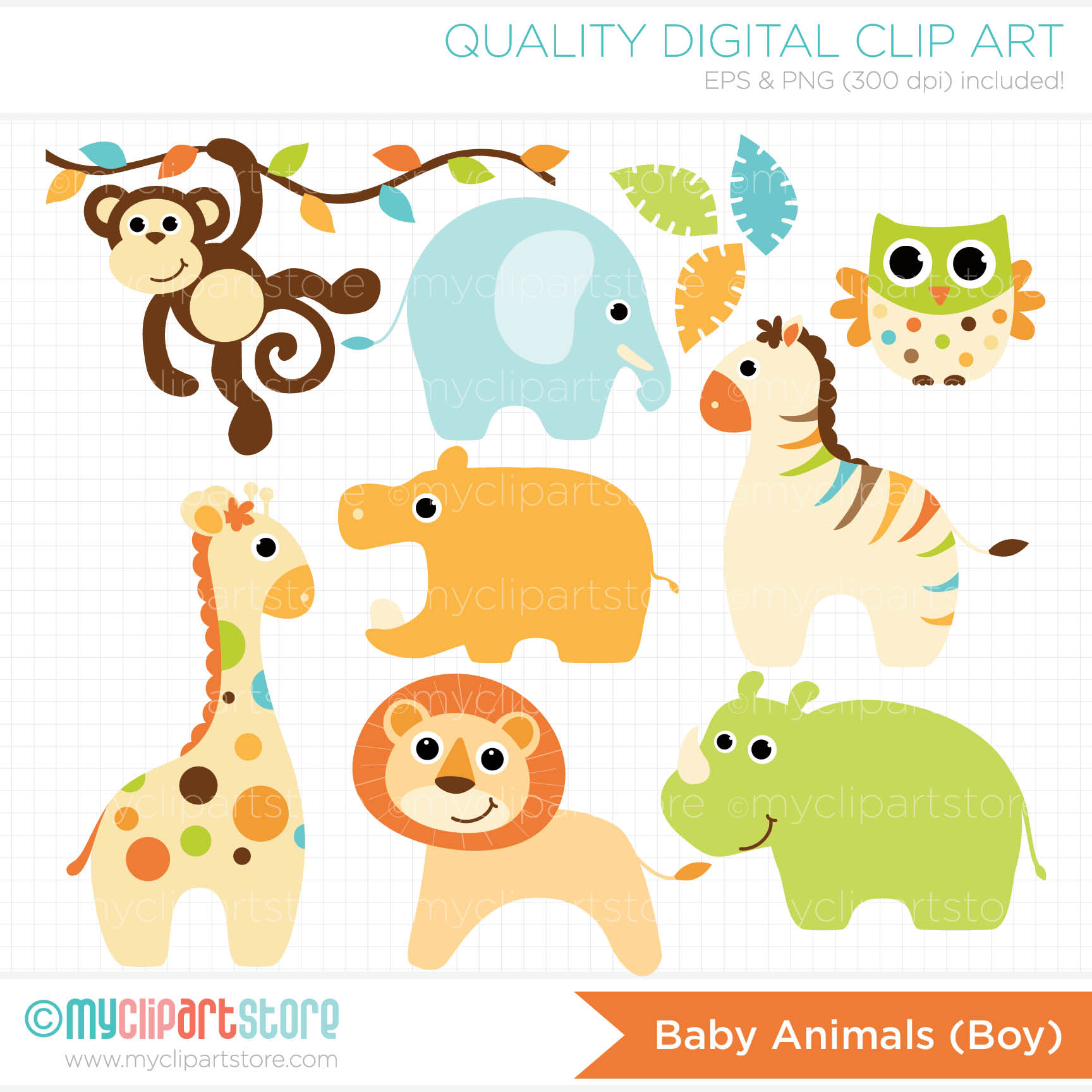 Clipart for baby showers. Animals clipartfest girl animal