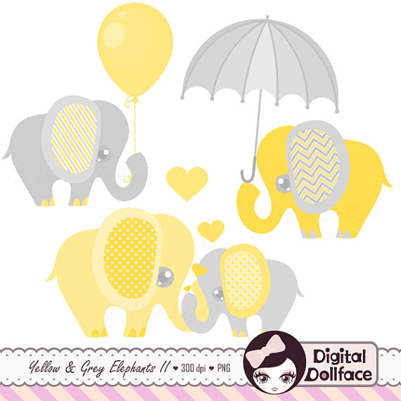 Clipart for baby showers. Shower elephant clip art