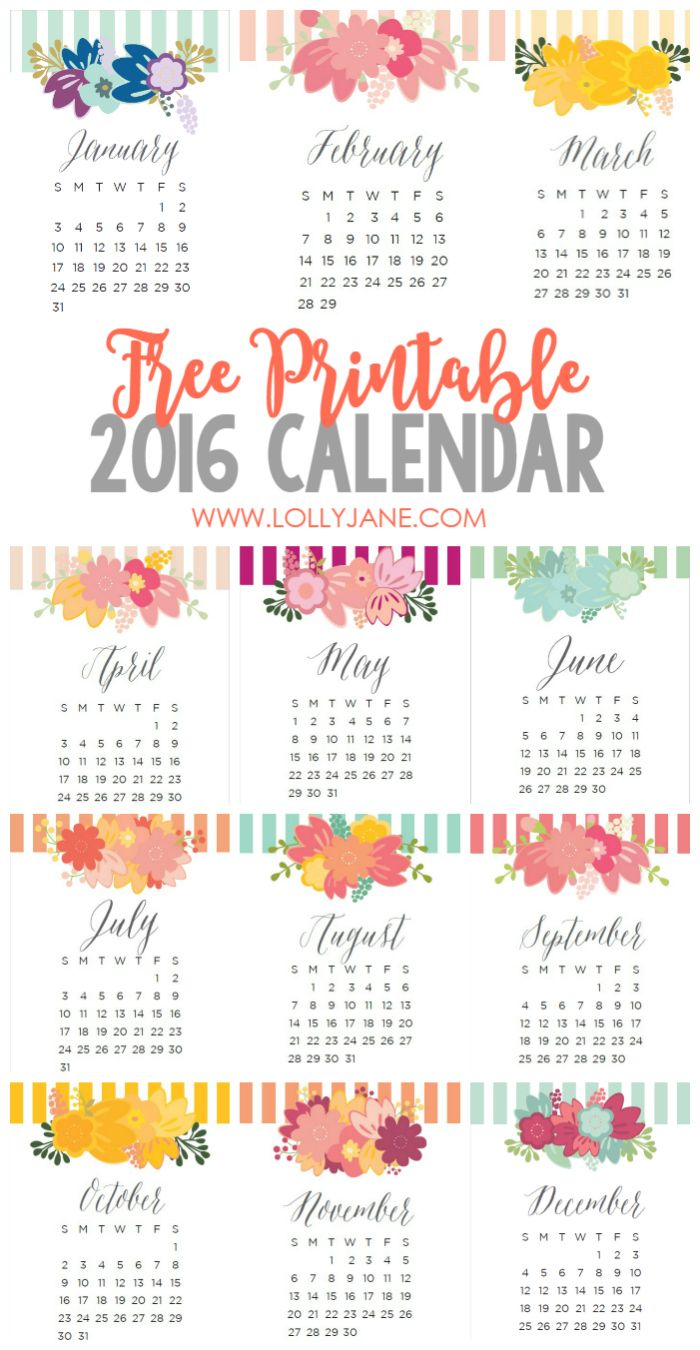 Clipart for calendar front for 2016 svg black and white download 17 Best images about FREE printable 2017 + 2016 calendars on ... svg black and white download