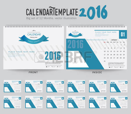Clipart for calendar front for 2016 svg library stock Calenders Stock Vector Illustration And Royalty Free Calenders Clipart svg library stock